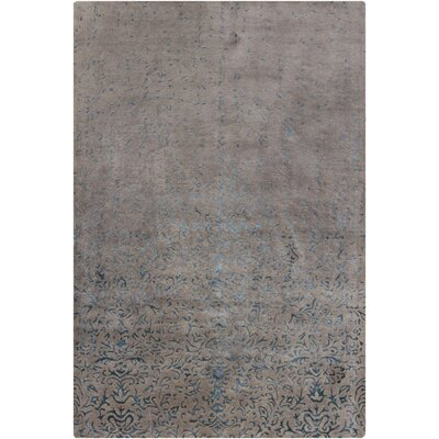 Holt Grey Abstract Area Rug Rug Size: 5 x 76