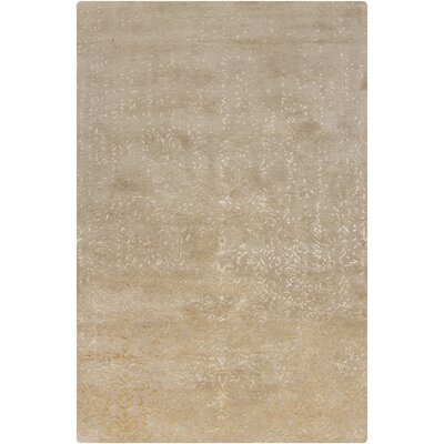 Holt Natural Abstract Area Rug Rug Size: 5 x 76