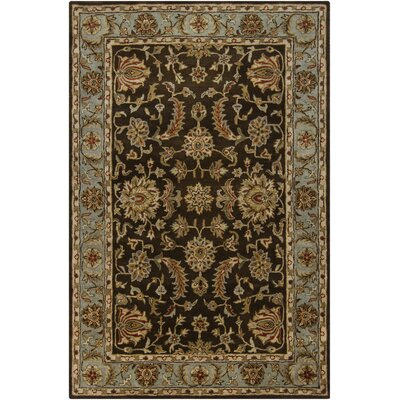 Tammy Brown/Tan Abstract Area Rug Rug Size: 79 x 106