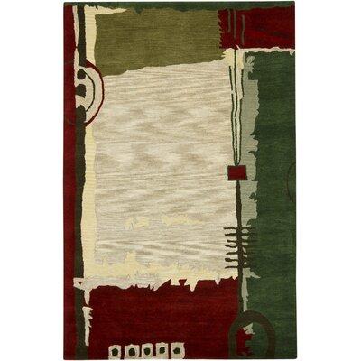Katara Wool Area Rug Rug Size: 79 x 106