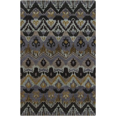 Forbis Abstract Wool Area Rug Rug Size: 5 x 76