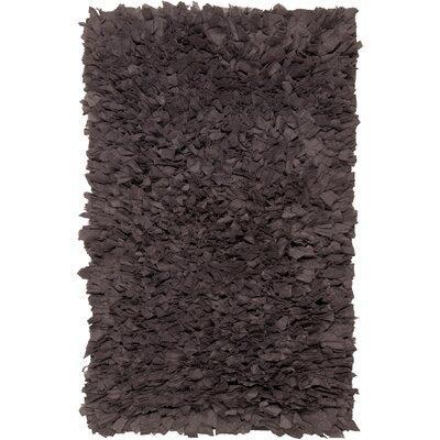 Benitez Dark Grey Area Rug Rug Size: 18 x 26