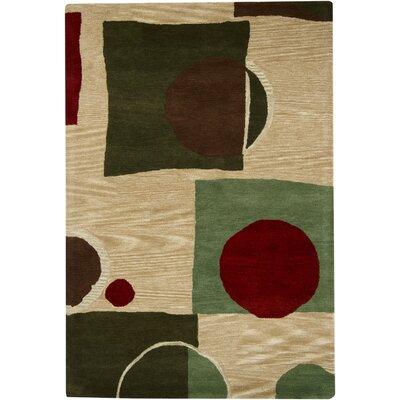 Rameriz Tufted Area Rug Rug Size: 79 x 106