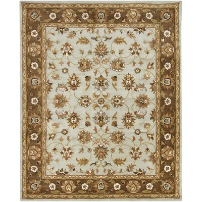 Perrussia Beige Area Rug Rug Size: 8 x 10