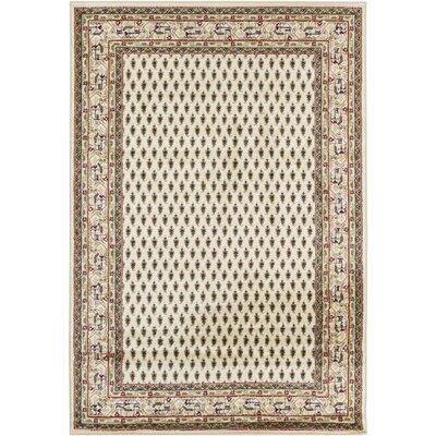 Taj Ivory Area Rug Rug Size: 8 x 11