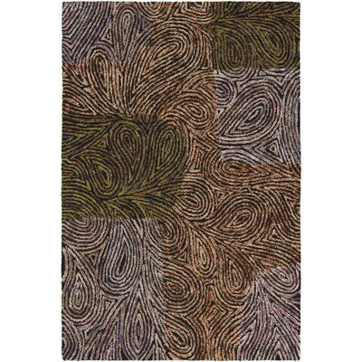 Twister Abstract Area Rug Rug Size: 79 x 106