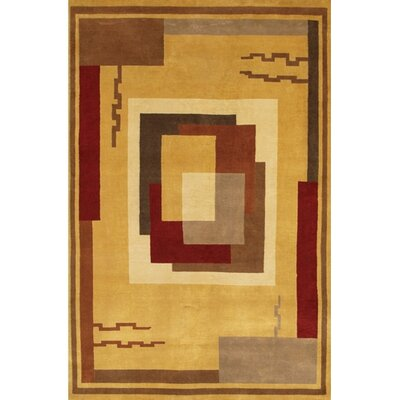 Caines Beige Area Rug Rug Size: Rectangle 5 x 76
