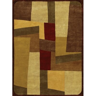 Caines Beige/Brown Area Rug Rug Size: Rectangle 2 x 3