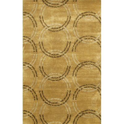 Caines Hand Woven Brown/Tan Area Rug Rug Size: Round 79