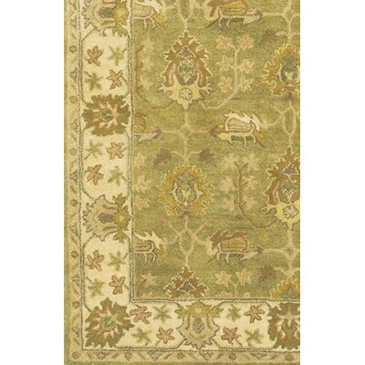 Adonia Green Area Rug Rug Size: Round 79