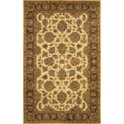 Adonia Gold / Yellow Area Rug Rug Size: 79 x 106