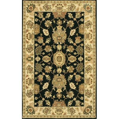Westlake Black / Gray Area Rug Rug Size: Rectangle 79 x 106