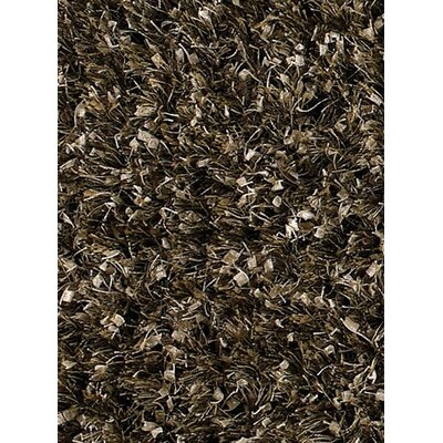 Akina Tan/Black Area Rug Rug Size: Runner 26 x 76