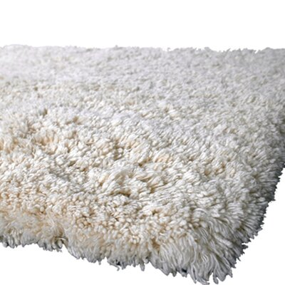 Brule Hand Woven Wool Ivory Area Rug Rug Size: Rectangle 79 x 106