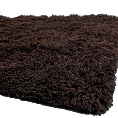Ambiance Brown Area Rug Rug Size: 79 x 106