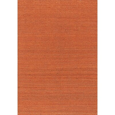 Youmans Orange Area Rug Rug Size: Rectangle 79 x 106