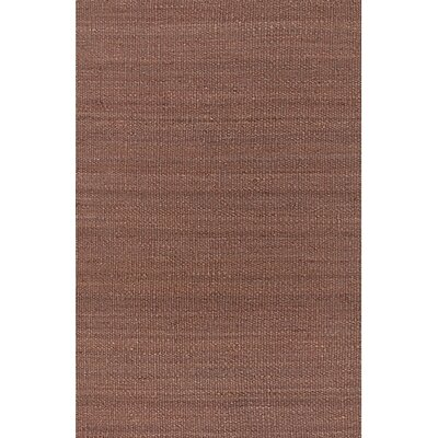Youmans Hand Woven Brown/Tan Area Rug Rug Size: Rectangle 5 x 76