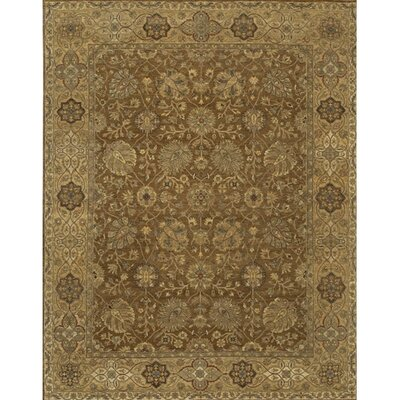 Freeland Brown / Tan Area Rug Rug Size: Rectangle 6 x 9