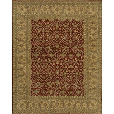 Freeland Red/Brown Area Rug Rug Size: 2 x 3