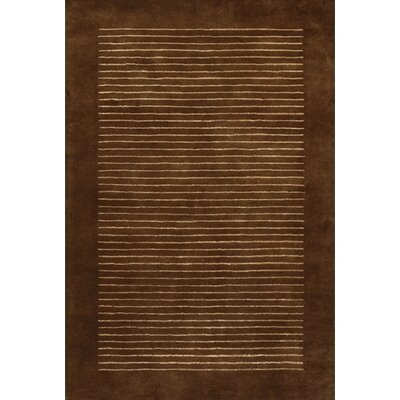 Laurent Brown/Tan Area Rug Rug Size: Rectangle 79 x 106