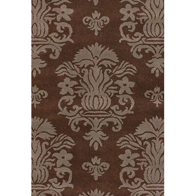 Antara Brown/Tan Area Rug Rug Size: 79 x 106