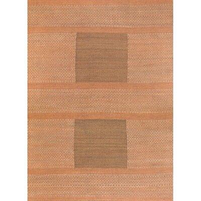Arsana Orange/Green Area Rug Rug Size: 2 x 3