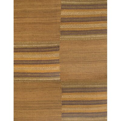 Arsana Brown/Tan Area Rug Rug Size: 79 x 106
