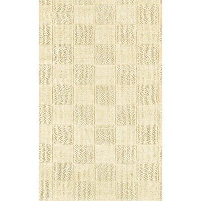 Lee-Abele Tan Area Rug Rug Size: Runner 26 x 76