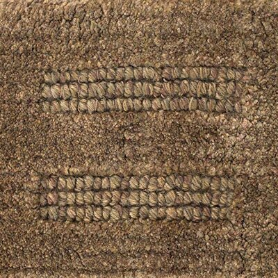 Gizem Brown Solid Rug Rug Size: Rectangle 36 x 56