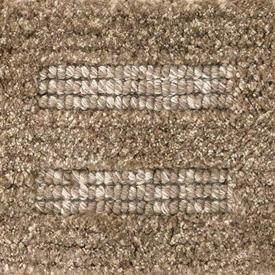 Gizem Brown/Tan Area Rug Rug Size: Rectangle 36 x 56