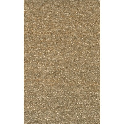 Fayean Brown/Tan Leather Area Rug Rug Size: Rectangle 2 x 3