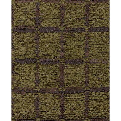 Art Green/Brown Area Rug Rug Size: 36 x 56