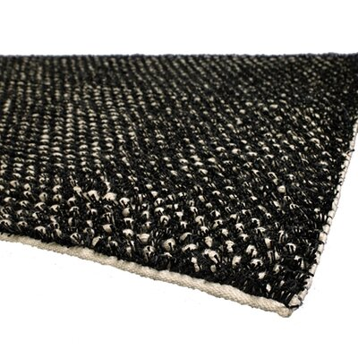 Carolee Black/White Area Rug Rug Size: Rectangle 2 x 3