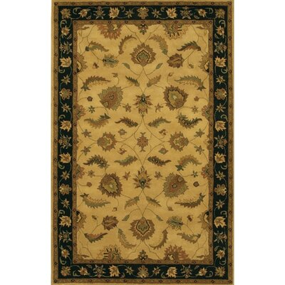 Calderwood Black/Brown Area Rug Rug Size: Round 79