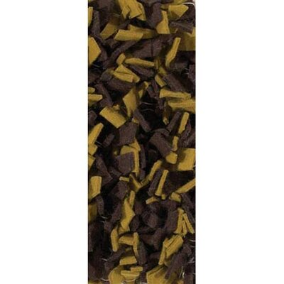 Ayoka Brown/Yellow Area Rug Rug Size: 2 x 3