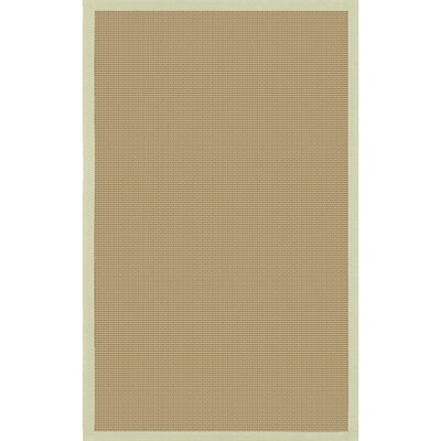 Bay Green/Tan Area Rug Rug Size: Round 79