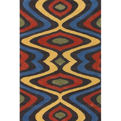 Stickel Abstract Hand Woven Area Rug Rug Size: Round 79