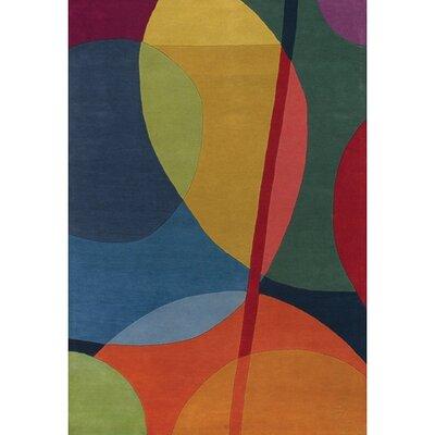 Bense Garza Area Rug Rug Size: 79 x 106