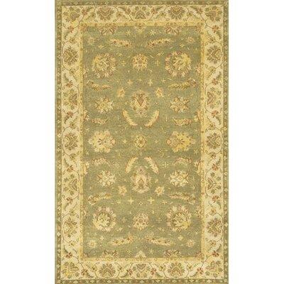 Carona Sage / Tan Area Rug Rug Size: 79 x 106