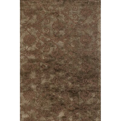 Bertram Tufted Brown / Grey Area Rug Rug Size: Rectangle 2 x 3