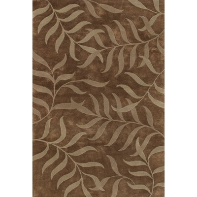 Casta Brown / Natural Area Rug Rug Size: 79 x 106