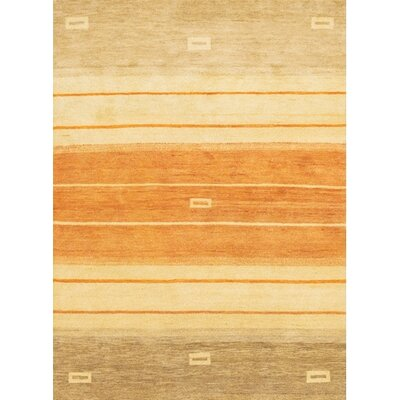 Chelsea Ivory / Orange Area Rug Rug Size: 2 x 3