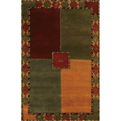 Gracen Sage Area Rug Rug Size: Rectangle 79 x 106