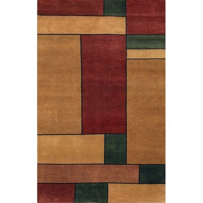 Gracen Brown / Beige Area Rug Rug Size: Rectangle 2 x 3