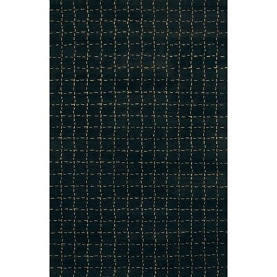 Chelsea Black Area Rug Rug Size: 2 x 3