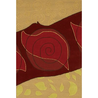 Steveson Abstract Hand Woven Rug Rug Size: Rectangle 2 x 3