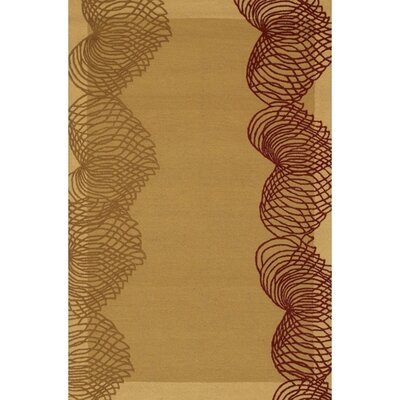 Krysta Modern Wool Rug Rug Size: Rectangle 5 x 76
