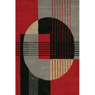 Deanna Abstract Rug Rug Size: Rectangle 79 x 106