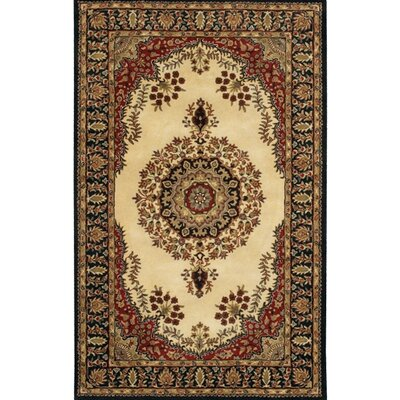 Angel Wool Brown/Tan Area Rug Rug Size: Rectangle 2 x 3