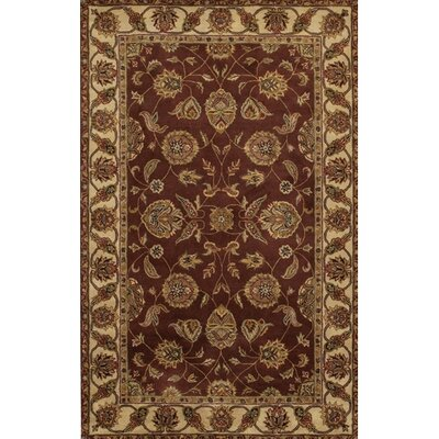 Curland Brown/Tan Area Rug Rug Size: Rectangle 5 x 76